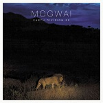 pochette Earth Division EP de Mogwai