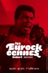 affiche 2012 des Eurockeennes - ring rock