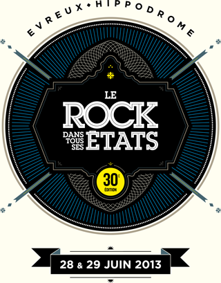 Le Rock Dans Tous Ses Etats 2013 - 28 et 29 juin @ Hippodrome d&#039;vreux | vreux | Haute-Normandie | France