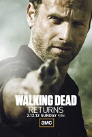 The Walking Dead affiche de la mi saison 2
