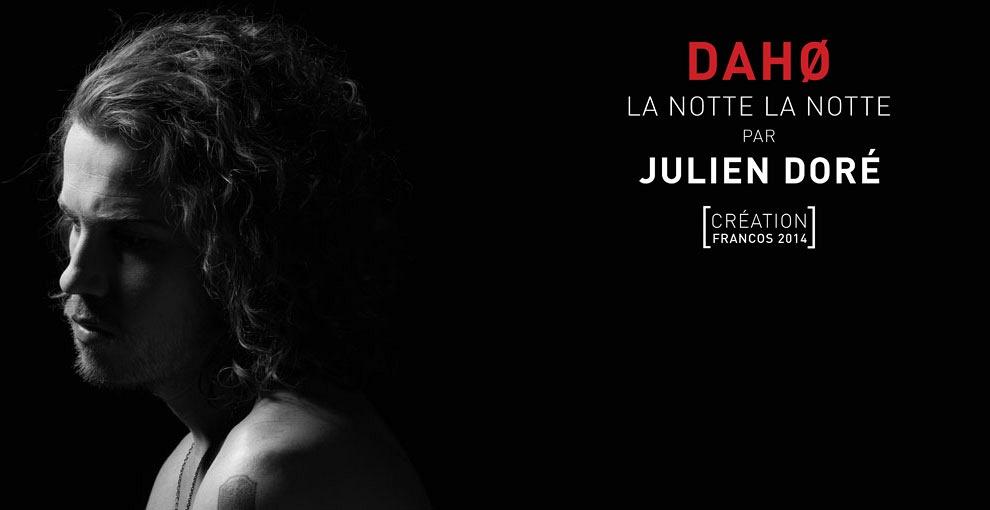 julien doré - DAHØ - la notte la notte